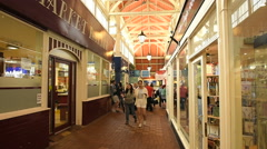 Oxford covered market Stock Footage