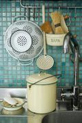 Strainer and kitchen sink Kuvituskuvat