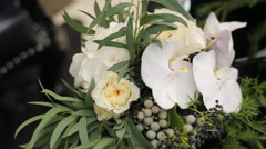 Wedding Bouquet Stock Footage