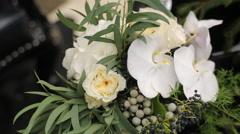 Wedding Bouquet - stock footage