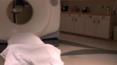 Modern Cat Scan Machine In Hospital Radiology Department Stock Footage