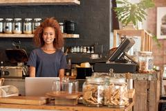 You will love my cafe Stock Photos