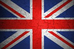 Grunge flag of Union Jack, uk england,  united kingdom flag Stock Photos