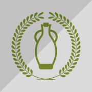 Olive oil icon design, vector illustration Stock Illustration