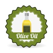 Olive oil design , vector illustration - stock illustration