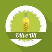 Olive oil design , vector illustration - stock illustration
