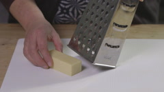 Grating cheese Stock Footage