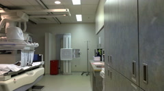 Modern Hospital X-Ray Room Stock Footage