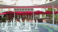 Colony Theater Lincoln Road Stock Footage