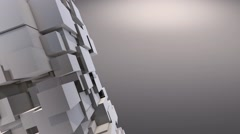 Moving Cubes Background - stock footage