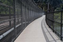 Overly Protected Walkway Stock Photos