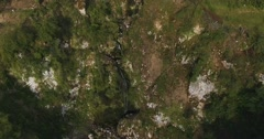 LUGANO // Small Waterfall // Aerial Footage - Riprese Aeree // 4K Stock Footage
