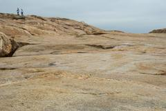 Expanse of rock - stock photo