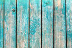 Blue distressed wooden background Stock Photos