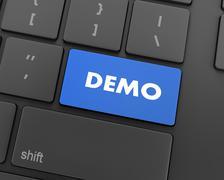 Demo Stock Illustration