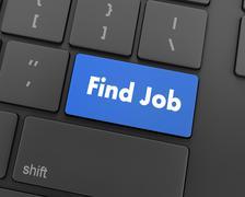 Find job Stock Illustration