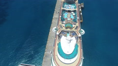 Cruise view overhead Stock Footage