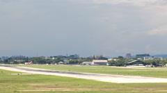 4K Timelape International Airport, Chiang Mai, Thailand Stock Footage