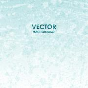 Vector abstract blue cold grunge texture Stock Illustration