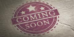 Coming Soon Announcement - stock photo