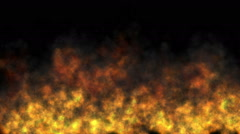 fire abstract flame - stock footage