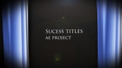 Success titles - stock after effects