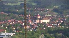 ballooning in Austria - stock footage