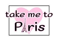 Eiffel Tower heart hand drawn - stock illustration