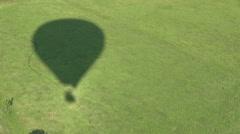 Ballooning shaddow Stock Footage