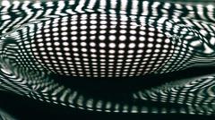 Spilling dense liquid paint macro slow motion video Stock Footage