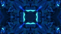 Disco neon kaleidoscope - stock footage