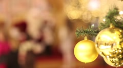 Christmas and New Year Decoration. Stock Footage