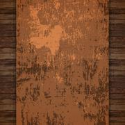 Abstract Rustic Background Vector Stock Illustration