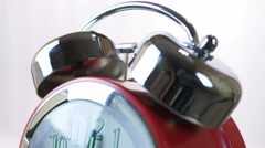 Alarm Clock Calling Stock Footage