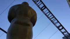 Hollywood & Highland Center During Academy Awards week. Stock Footage