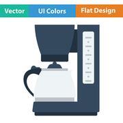 Kitchen coffee machine icon Stock Illustration