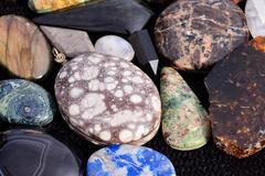 Semi Precious Rock Stone Jewel Kuvituskuvat