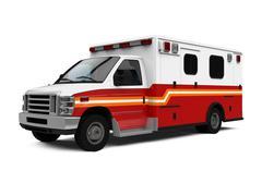 Ambulance Car Isolated Stock Illustration