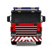 Fire Rescue Truck - stock illustration