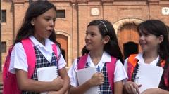 School Kids Joking  Laughing Stock Footage