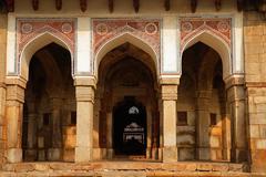 Ali Isa Khan tomb - India - stock photo