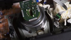 mechanics VCR(view from above) - stock footage