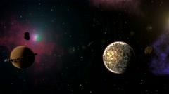 Black Hole 4k - stock footage