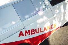 Photograph of an ambulance Kuvituskuvat