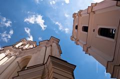 Vilnius University Church Stock Photos