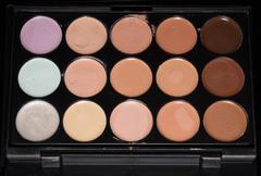 foundation palette - stock photo