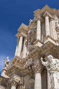 Duomo di Siracusa - Syracuse Catholic Cathedral, Sicily, Italy Stock Photos