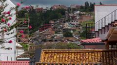 Cuenca, Ecuador. 4k time lapse - stock footage