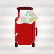 Travel concept design Stock Illustration
