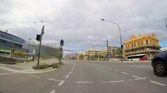 Adelaide City POV Stock Footage